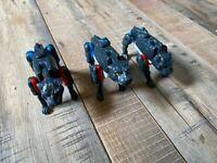 1996 Hasbro Takara Transformers Beast Wars Wolves Lot of 3