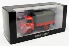 Minichamps 1/43 Scale 439 154090 - Hanomag Kurier Feuerwehr Dortmund