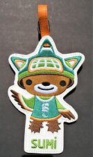 VANCOUVER 2010 OLYMPIC GAMES SUMI MASCOT LUGGAGE TAG PARALYMPIC SOUVENIR