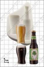 Stampo in Silicone Bottiglia & Vetro Uso Alimentare FPC Sugarcraft