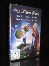 DVD DER KLEINE PRINZ - DER PLANET DER WINDE - PLANET DER MUSIK - 2 FILME * NEU *