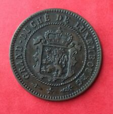 Luxembourg - Très  Jolie monnaie de  5 Centimes 1870 - Rare