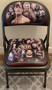 WWE VIP Experience Ringside Chair 2016 *EXCELLENT* WWF RARE John Cena