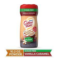 New listing Coffee Mate Vanilla Caramel Sugar Free 10.2 oz