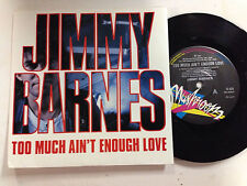 Jimmy Barnes Too Much Ain`t Enough Love(Cold Chisel) OZ Classic Rock