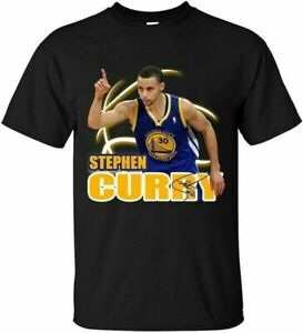 Stephen Curry Golden State Warriors Unisex Tshirt Funny Black Cotton Tee Gift...