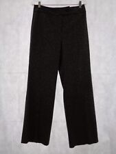 Ann Taylor Loft Women's Gray Pebbled Laura Fit Silk Blend Dress Pants Size 8 NWT