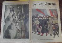 LE PETIT JOURNAL N°427.  22/01/1899. LES SAINT-CYRIENS A SAINT-PÉTERSBOURG