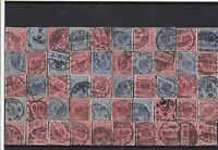 Germany early used Reichspost Stamps with good cancels Ref 14268