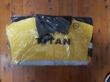 Mens Hi-vis workwear jacket wool[Bluey] yellow size XXXXLTradesperson
