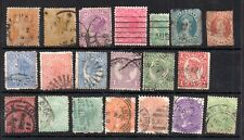 Australia States QV used collection WS14077