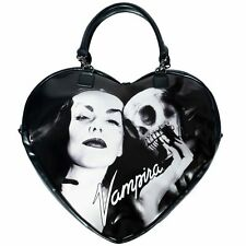 Vampira Womens Purse Dark Vampire Gothic Goth Horror Black White Heart Skull