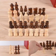 32pcs/set wooden chess King high 64cm total weight 140g entertainment games  ATA