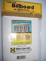Blair Line Laser Cut Do-It-Yourself Custom Billboard  #2550 Bob The Train Guy