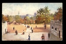 London St James Park from the Monument  Tuck Oilette #7193 PPC