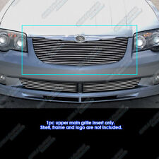 Fits 2004-2008 Chrysler Crossfire Billet Grille Grill Insert