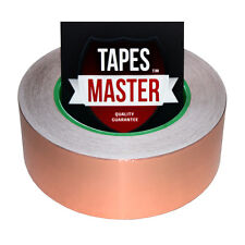 """Copper Foil Tape - 1.5"""" x 36 Yds. - EMI Conductive Adhesive / Ship from USA"""