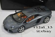 Autoart 1:18 Lamborghini Aventador LP700-4 Grigio Estoque/Grey 74662