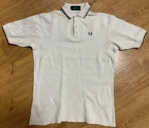 Mens Fred Perry Vintage Polo Shirt Made in England Size M