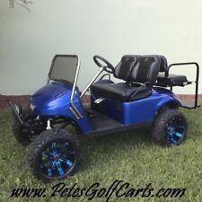 Custom Ezgo Golf Cart Electric 48v TxT 4 Seater