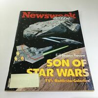 Newsweek Magazine: September 11 1978 - Son Of Star Wars TV's Battle Galactica