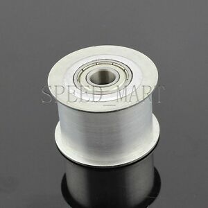Smooth Idler Pulley With bore 12mm Bearing For wide 27mm HTD5M HTD8M Timing belt