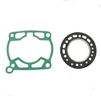 Cylinder top end Gasket Kit for Suzuki RM250 1982-1985 Head Base Exhaust Flange
