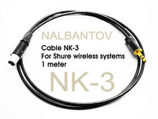 Cable NK-3 for Shure wireless systems to NCM Microphone Pickup Systems