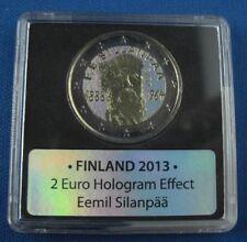 2 euro holograma finnalnd 2013 Eemil Sillanpää