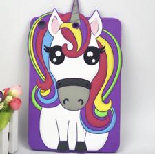 Cartoon Animal unicornio Lindo 3d Silicona Funda Tablet TPU para iPad Mini 2 3