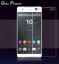 Tempered Glass Protector Guard For Sony Xperia C5 Ultra/Dual E5553 E5506 E5533