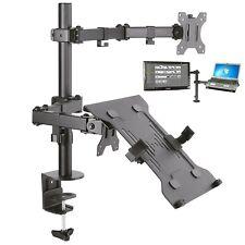 Monitorhalterung mit Ablage f. Laptop Notebook Netbook Adapter TV PC Tischhalter
