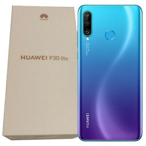 BNIB Huawei P30 Lite Marie-L01A 128GB Blue Single-SIM Factory Unlocked 4G GSM