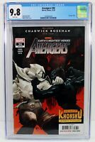 Avengers #36 CGC 9.8 NM/MT Moon Knight vs Black Panther Chadwick Boseman Tribute
