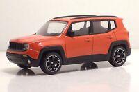 "MondoMotors 53140 Jeep RENEGADE ""Orange""  - METAL 1:43"