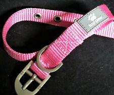 "Top Paw Pink Dog Collar Brand New!, SIZEMediumFabric 14""-18"" Steel Buckle"