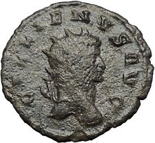 Gallienus son of Valerian I  Ancient Roman Coin Sol Sun God Globe  i54806