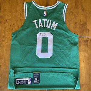 Jayson Tatum Signed Autographed Nike Aeroswift Jersey Boston Celtics COA
