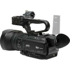 JVC GY-HM250U UHD 4K Streaming Camcorder with Built-in Lower-Thirds Graphics
