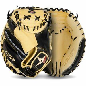 "2021 All-Star Pro-Elite 33.5"" Catcher's Mitt RHT Right Hand Glove CM3000SBT-1"