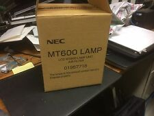 NEC MT600 LCD Lamp Unit & Air Filter 01957716 Projector