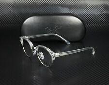 RAY BAN RX4246V 2001 White Trasparent Demo Lens 47 mm Unisex Eyeglasses