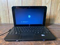 "HP MINI 110 10.1"" Laptop Intel ATOM 1.60ghz 1gb 100GB Webcam WIFI NO OS"
