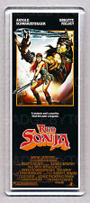 RED SONJA movie poster LARGE FRIDGE MAGNET - ARNIE BARBARIAN CLASSIC!