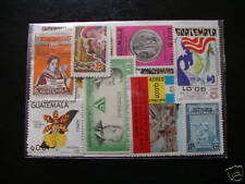 *****TIMBRES AMERIQUE / GUATEMALA : 25 TIMBRES NEUFS TOUS DIFFERENTS ****