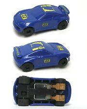 1990 POLISTIL Policar Mini? Porsche 934 EuroSport Italy Odd Slot Car MATED PAIR!