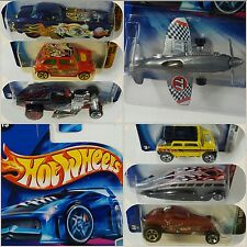 Hot Wheels - 2004 -Lot of 7_ Propz Morris Coupe Nash Fast Crooze Rockster Plane