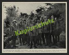Alfred Grohs Gallipolli Osmanen Marschall Yussuf Izzedin-Effendi Stab Türkei ´15