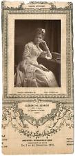 Lemercier, Paris, actrice, Théâtre-Historique, Clémentine Schmidt Vintage Print,