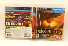 Puss in Boots (Sony PlayStation 3, 2011) PS3 Complete Very Good
